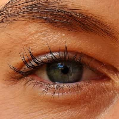 dik boven ooglid