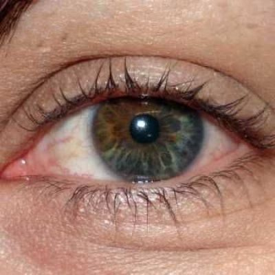 Bruine ogen worden lichter